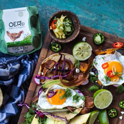 Miljuschka's zomertip: breakfast taco's met oerei