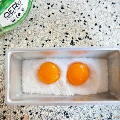 Eggsperiment: gepekelde eidooier
